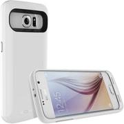 TAMO Samsung S6 Extended Battery Case, White, 3500 mAh