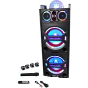 Pyle PA Series PSUFM1043BT Speaker System, 2000 W RMS, Tower, Wireless Speaker(s)