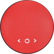 TIC Cookie BD1 2.0 Speaker System, 8 W RMS, Portable, Battery Rechargeable, Wireless Speaker(s), Red