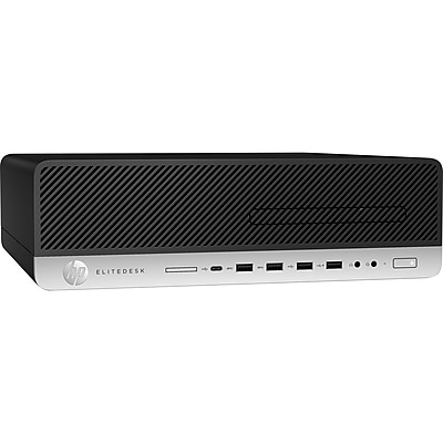 HP EliteDesk 800 G3 Desktop Computer, Intel Core i7 (6th Gen) i7-6700 3.40 GHz, 8 GB DDR4 SDRAM, 256 GB SSD