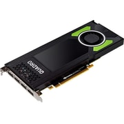 PNY Quadro P4000 Graphic Card, 8 GB GDDR5, PCI Express 3.0 x16, Single Slot Space Required