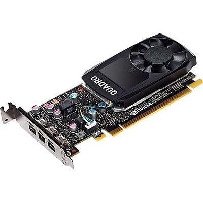 PNY Quadro P400 Graphic Card, 2 GB GDDR5, PCI Express 3.0 x16, Low-profile, Single Slot Space Required