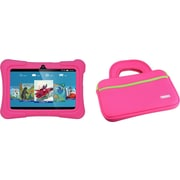 "Tablet Express Dragon Touch Y88X Plus Kids 7"" Tablet Disney Edition, Kidoz Pre-Installed, Android 5.1, Pink with Case Bag Pink"