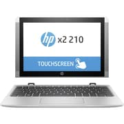 "HP x2 210 G2 10.1"" Touchscreen 2 in 1 Netbook, Intel Atom x5 x5-Z8350 4 Core 1.44 GHz, 4 GB LPDDR3, 64 GB Flash Memory"