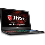 "MSI GS63VR Stealth Pro GS63VR 230 15.6"" Laptop Computer (Intel i7, 256 GB SSD+ 2TBHDD, 16GB, Windows10, NVIDIA GeForce 1060)"