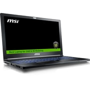 "MSI WS63 7RK-290US 15.6"" Laptop Computer (Intel i7, 256 GB SSD+ 2 TB HDD, 32GB, Windows 10 Professional, NVIDIA Quadro P3000)"