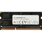 V7 8GB DDR3 PC3-12800, 1600mhz SO DIMM Notebook Memory Module, V7128008GBS-LV