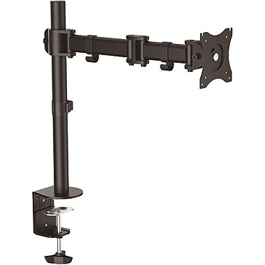 StarTech.com Desk Mount Monitor Arm, Articulating Arm, For VESA Mount Monitors up to 27in (17.6 lb/8 kg), Heavy Duty Steel
