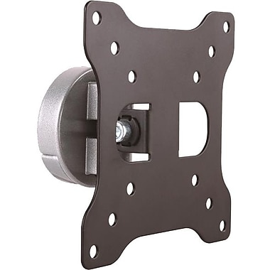 StarTech.com Monitor Wall Mount, Aluminum, For VESA Mount Monitors / Flat-Screen TVs up to 27in (33lb/15kg), Monitor Wall Mount
