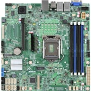 Intel S1200SPOR Server Motherboard, Intel C236 Chipset, 1 Pack
