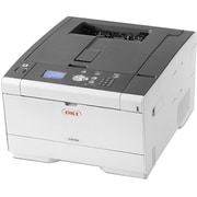 Oki C532dn LED Printer, Color, 1200 x 1200 dpi Print, Plain Paper Print, Desktop