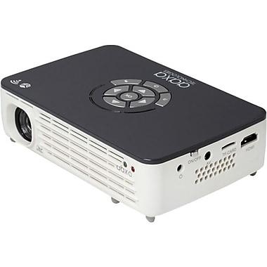 AAXA Technologies P700 Pro 3D Ready DLP Projector, 720p, HDTV, 16:9