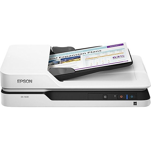Epson workforce ds 1630 flatbed scanner 1200 dpi optical staples httpsstaples 3ps7is reheart Choice Image