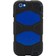 Griffin Survivor All-Terrain Carrying Case for iPhone 6, iPhone 6S, Black, Blue
