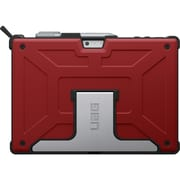 Urban Armor Gear ROGUE Carrying Case for Tablet, Red, Black (UAG-SFPRO4-RED-VP)