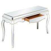 Elegant Lighting Camille Writing Desk; Silver