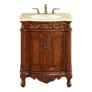 Astoria Grand Ambudkar 27'' Single Vanity Set; Brown