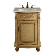 Astoria Grand Ambudkar 24'' Single Bathroom Vanity Set; Antique Beige