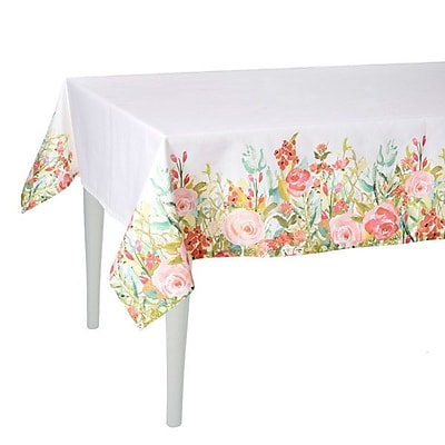Debage Inc. Spring Rose Pedal Tablecloth