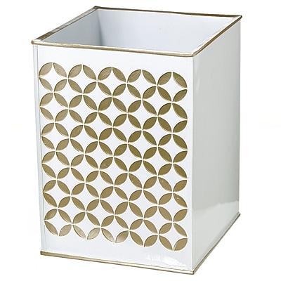 Creative Scents Diamond Lattice Waste Basket