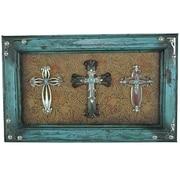 De Leon Collections 3 Crosses Picture Frame