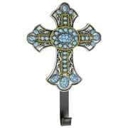 De Leon Collections Turquoise Cross Wall Hook