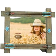 De Leon Collections Arrow Wood Picture Frame