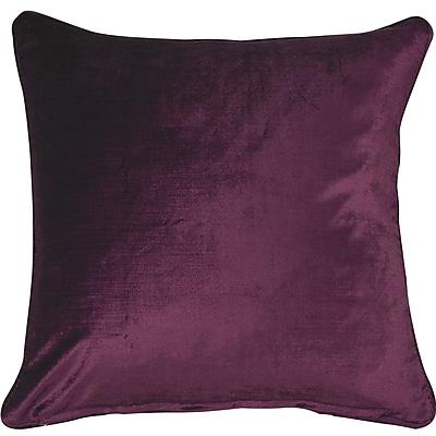 Eightmood Essentials Lovisa Throw Pillow; Purple
