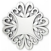 Fab Glass and Mirror The Versailles Home Decor Starburst Wall Mirror