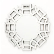 Fab Glass and Mirror The Far East Round Wall Mirror