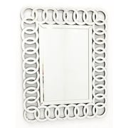 Fab Glass and Mirror The Union Rectangle Decorative Wall Mirror