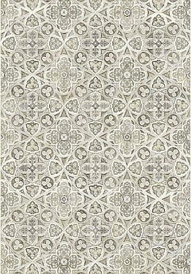 Dynamic Rugs Eclipse Beige Area Rug; Rectangle 7'10'' x 10'10''