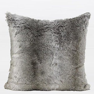 G Home Collection Luxury Faux Fur Throw Pillow