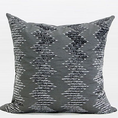 G Home Collection Luxury Textured Embroidered Throw Pillow