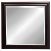 DSOV Dalat Cherry Square Framed Beveled Wall Mirror