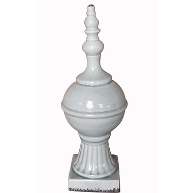 Jeco Inc. Ceramic Finial D cor Statue