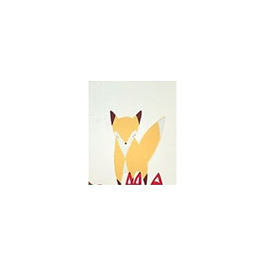 Pop & Lolli Gingiber Friendly Yellow Fox Wall Decal