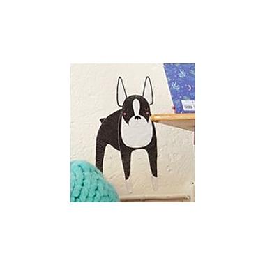 Pop & Lolli Gingiber Boston Terrier Dog Wall Decal
