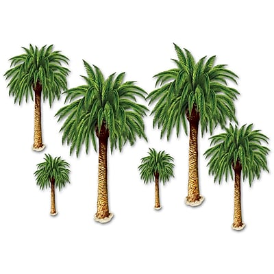 The Beistle Company Palm Tree Props