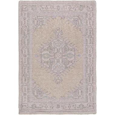 Bloomsbury Market Alessi Taupe/Mauve Oriental Rug; 2' x 3'