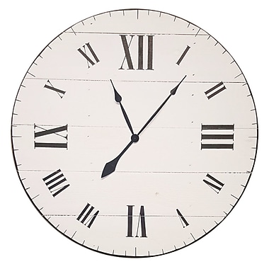 BrandtWorksLLC Farm to Home Wall Clock; 36'' H x 36'' W x 2'' D