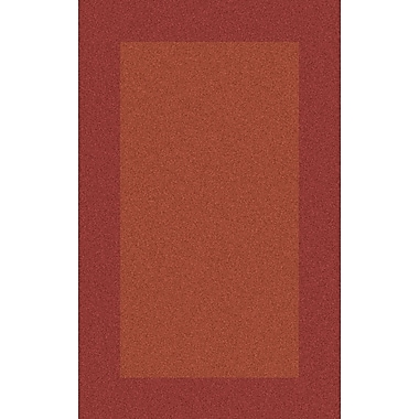 Red Barrel Studio Briargate Rust Solid Area Rug; 12' x 15'