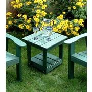 TailwindFurniture Adirondack Side Table; Green