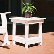 TailwindFurniture Adirondack Side Table; White