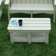 TailwindFurniture Adirondack Coffee Table; Green