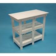 TailwindFurniture Adirondack Buffet Table w/ Shelf; Cedar