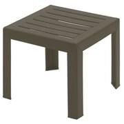George Oliver Vasquez Side Table; Bronze Mist