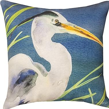 Manual Woodworkers & Weavers Heron Throw Pillow
