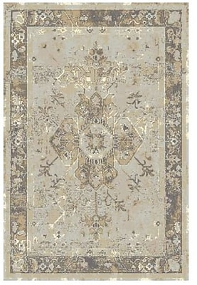 Rugs America Beverly Gray Area Rug; 5'3'' x 7'6''