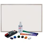 Offex Magnetic Wall Mounted Whiteboard 24'' x 36''